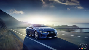 Geneva 2016: Lexus LC 500h makes global debut