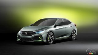 Geneva 2016 : Honda Civic Hatchback Prototype released
