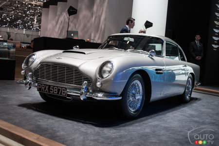 Top 10 classic cars at the 2016 Geneva Auto Show
