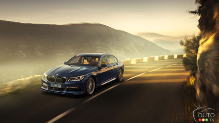 Geneva 2016: all-new BMW ALPINA B7 Bi-Turbo puts 600 hp to the ground
