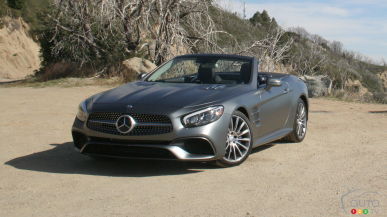 2017 Mercedes-Benz SL-Class First Drive