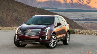 2017 Cadillac XT5 coming to a dealer near you in April