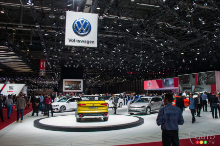 Geneva 2016: Volkswagen in austere mode