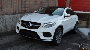 2016 Mercedes GLE 350d 4MATIC Coupe Review