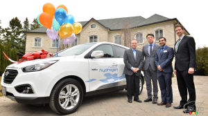First Hyundai Tucson FCEV delivered in Ontario