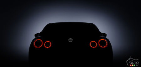 New Nissan GT-R teased ahead of New York Auto Show
