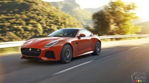 Jaguar F-Type SVR to make North American debut in New York