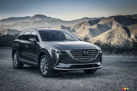2016 Mazda CX-9 coming to Canada in June at $35,300