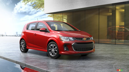 2017 Chevy Sonic gets significant update