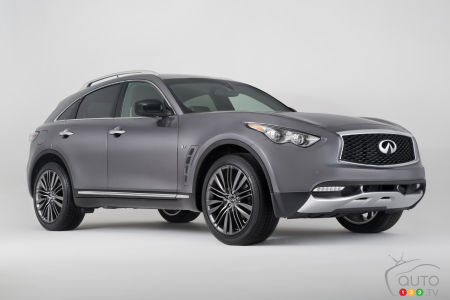 2017 Infiniti QX70 Limited ready for global debut in New York