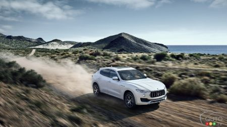 Maserati Levante to make North American debut in New York