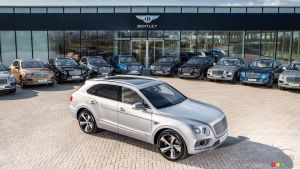 First Bentley Bentayga customers take delivery of their SUV