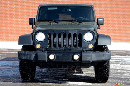 Jeep Wrangler Unlimited Willys 2016 : essai routier