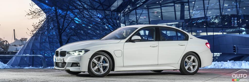 bmw d voile sa 330e iperformance hybride enfichable actualit s automobile auto123. Black Bedroom Furniture Sets. Home Design Ideas
