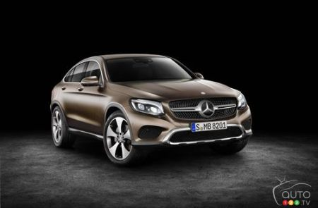 Mercedes-Benz GLC Coupe world premiere in New York
