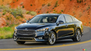 New York 2016: Redesigned 2017 Kia Cadenza takes the stage