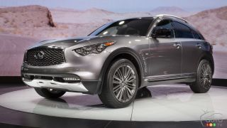 New York 2016: 2017 Infiniti QX70 Limited world premiere