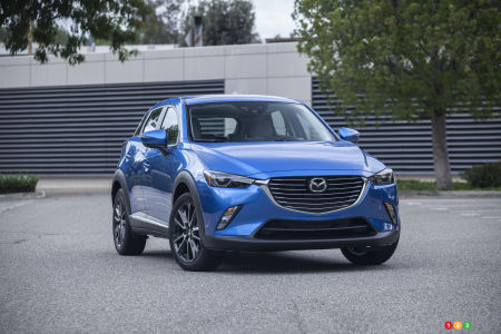 2016 Mazda CX-3 named Canadian Green Utility Vehicle of the Year