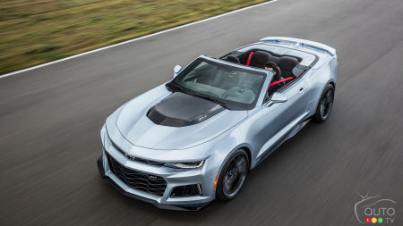 New York 2016: Chevy Camaro ZL1 Convertible unveiled