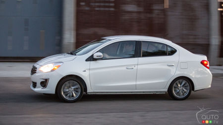 New York 2016: Mitsubishi Mirage G4 unveiled