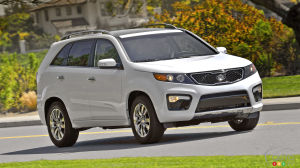 10,459 Kia Sorento SUVs recalled in Canada for faulty sunroof
