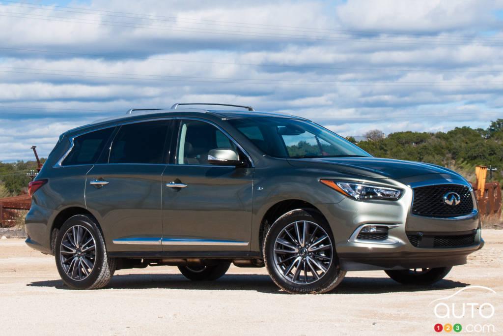 2016 infiniti qx60 first drive car reviews auto123. Black Bedroom Furniture Sets. Home Design Ideas