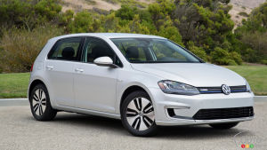 5,600 Volkswagen e-Golf electric cars recalled in the U.S.