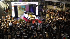 Kia builds two millionth vehicle in the U.S.
