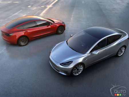 Here's the all-new Tesla Model 3!
