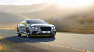 Updated Bentley Continental GT Speed gets even more power