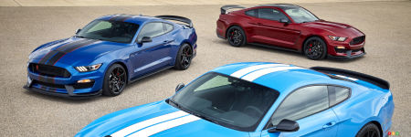 Voici la nouvelle Ford Shelby GT350 Mustang 2017!