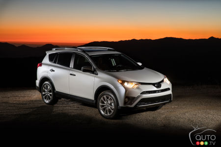 2016 Toyota RAV4, Lexus RX 350 and ES 350 recalled for brake issue