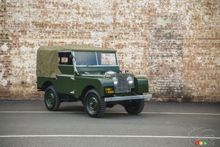 Meet the new (old) Land Rover Series 1 Reborn!