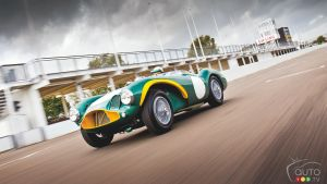 Rare 1954 Aston Martin DB3S driven by Stirling Moss up for bid