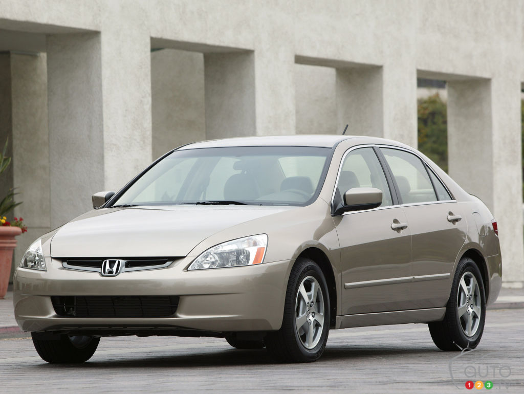 La Honda Accord 2005
