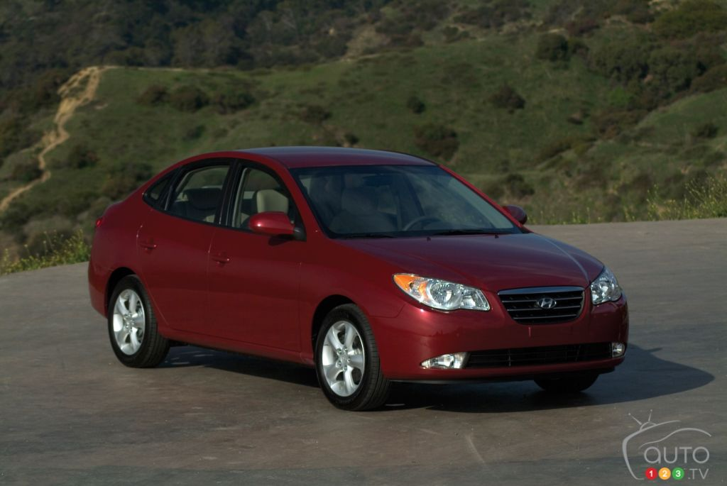 2008-2010 Hyundai Elantra recalled in Canada over airbag concerns