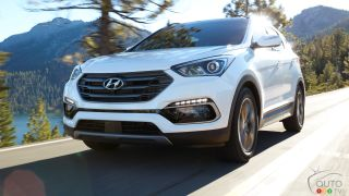 2017 Hyundai Santa Fe Sport on sale now in Canada from $28,599