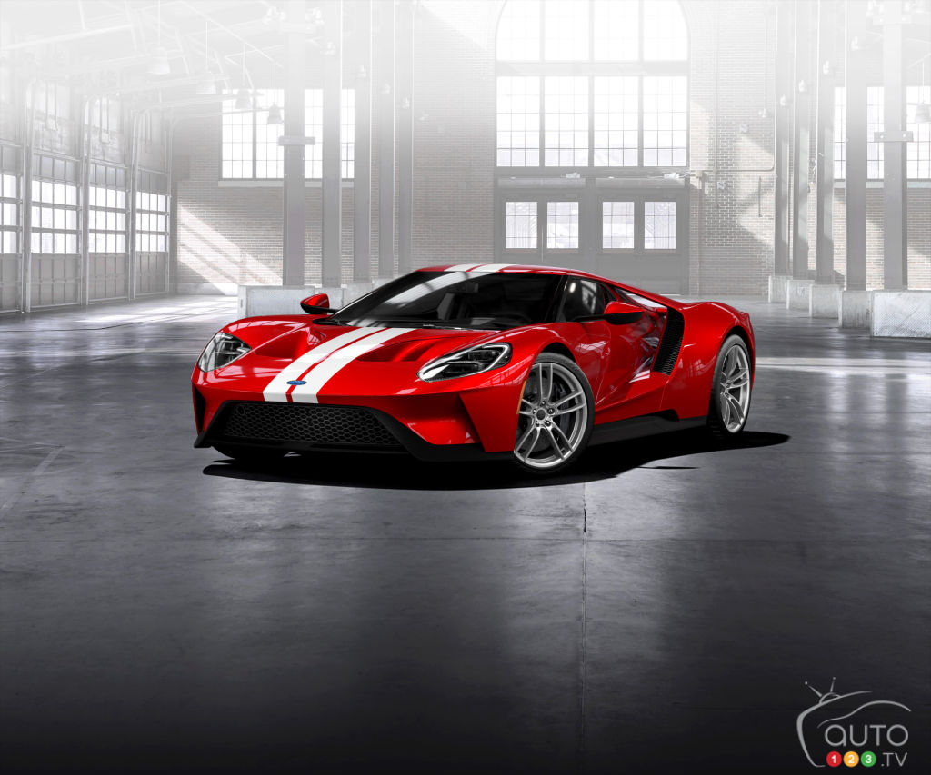 Ford GT pre-orders have begun