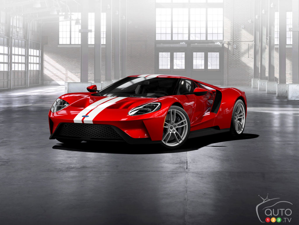 The all-new Ford GT