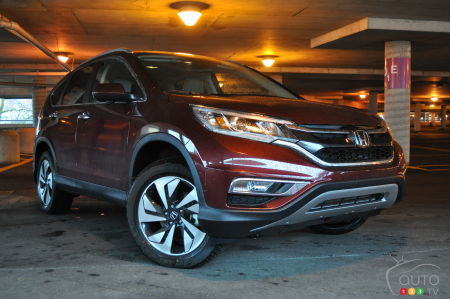2016 Honda CR-V Touring review