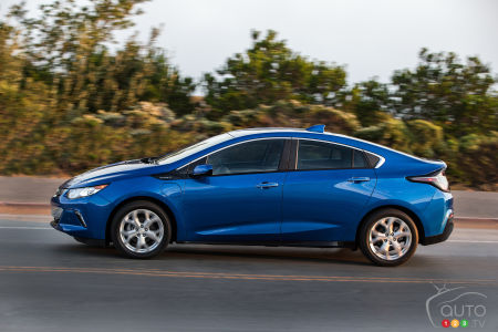 Chevy Volt named 2016 Canadian Green Car