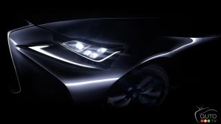 New Lexus IS announced for Beijing Auto Show