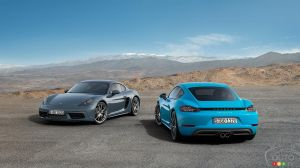 2017 Porsche 718 Cayman on sale in November across Canada