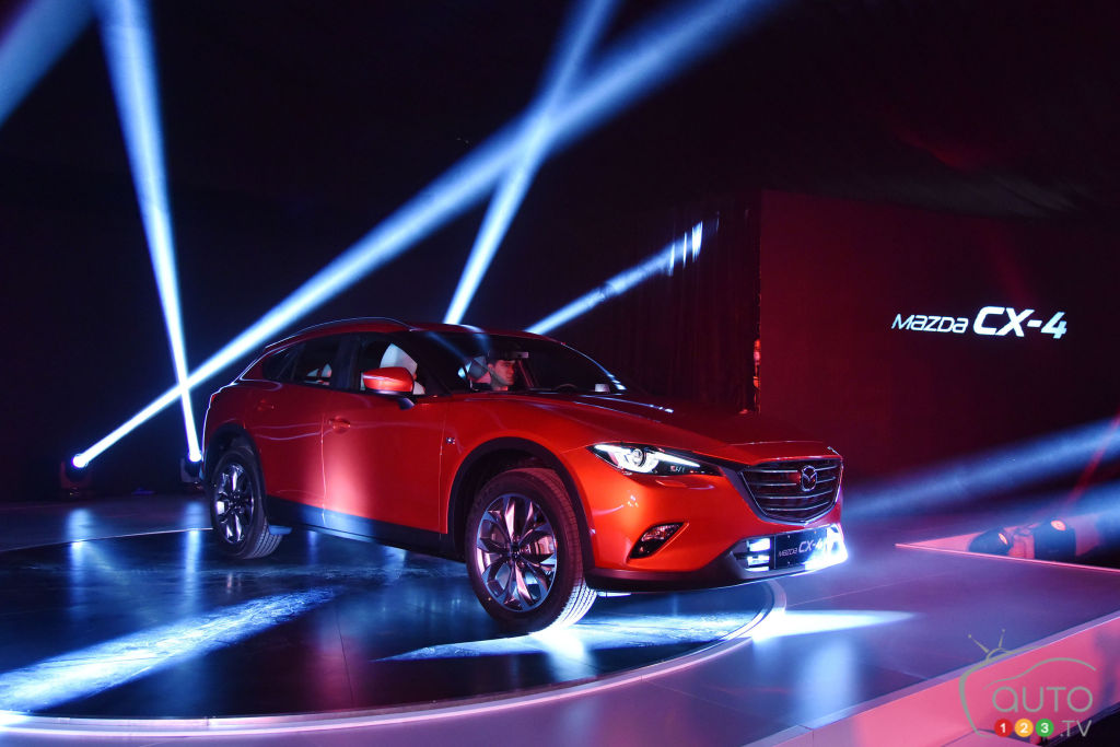 Beijing 2016: All-new Mazda CX-4 makes global debut