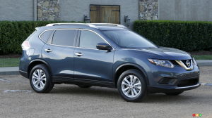 Over 46,000 Nissan Rogue crossovers recalled in Canada