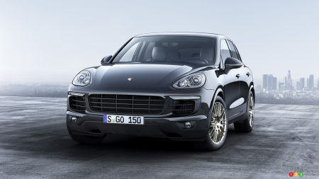 New Porsche Cayenne Platinum Edition available in Canada in August