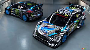 First look at Ford Focus RS RX to be driven by Ken Block