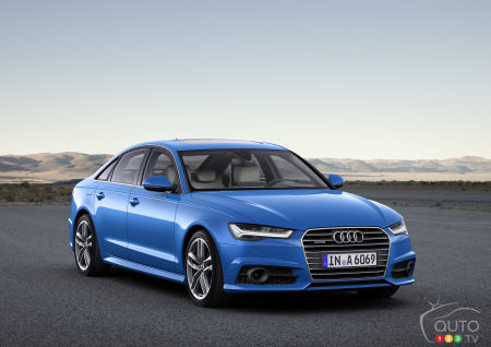 Audi unveils changes to A6, A7, TT RS models