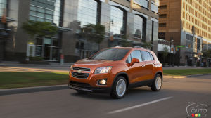 Nearly 30,000 Chevy Trax, Spark, and Sonic vehicles recalled in Canada