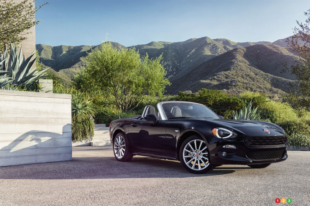 All-new 2017 Fiat 124 Spider to start at $33,495 in Canada
